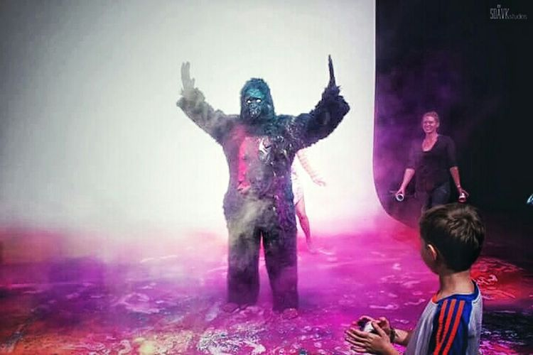 Fun Times at a Music Video Shoot! in Noida Film City That's Not Me That's My Gorilla Funny Real Fun