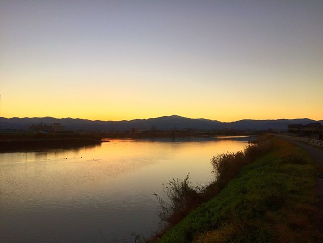 Today's Hakusan before sunrise Komatsu Hakusan Take A Walk Before Sunrise