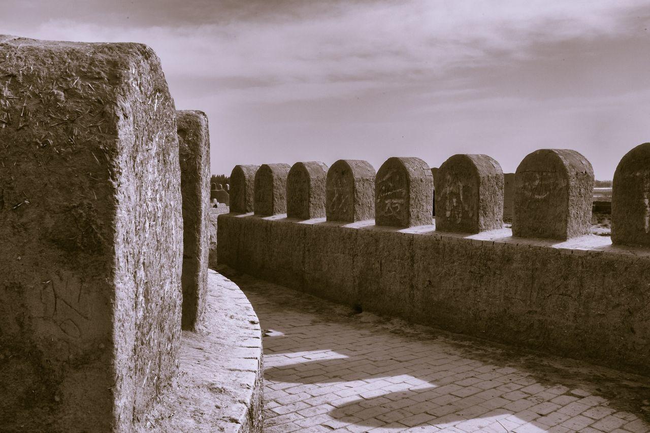 Fortress wall. Fortress Walls Ramparts Shapes Patterns