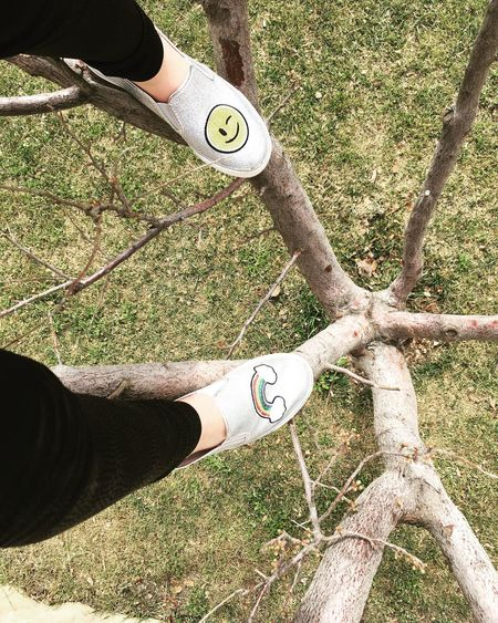 Climbing A TreeeShoeseLifefGreen ViewswHappy Face 🎀