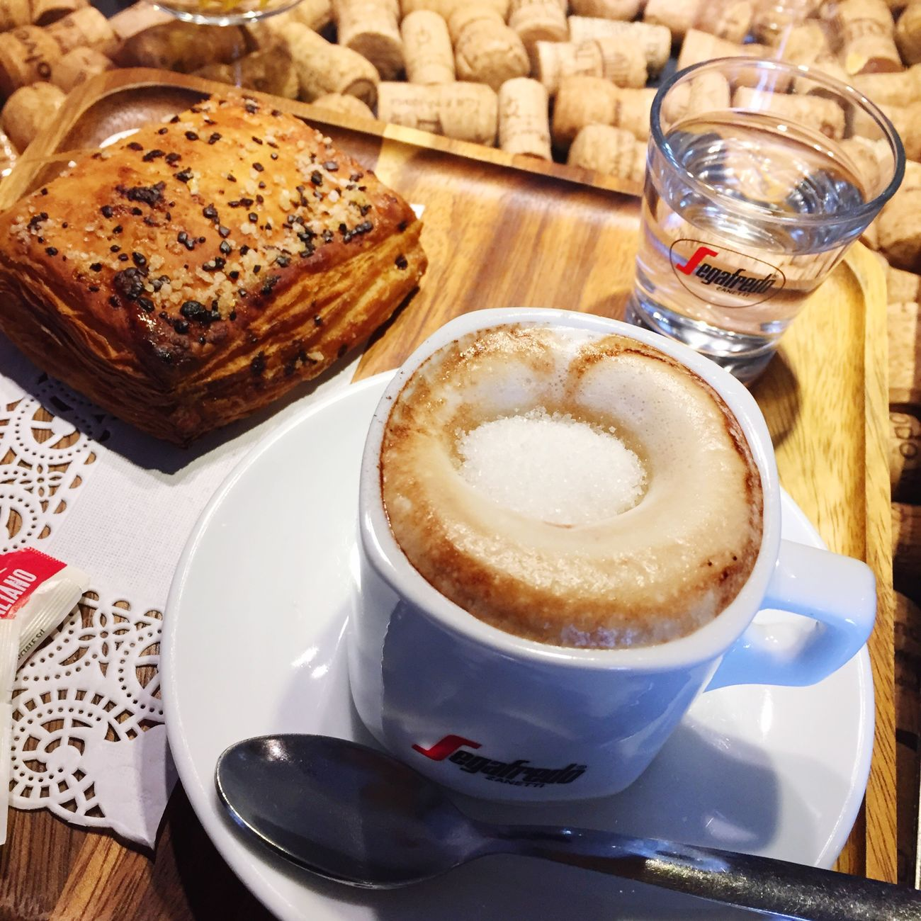 🍩🍩🍩 Colazione Colazioneitaliana Coffee - Drink Cappuccino Food Like4like Likes Likeforlike Likemypic