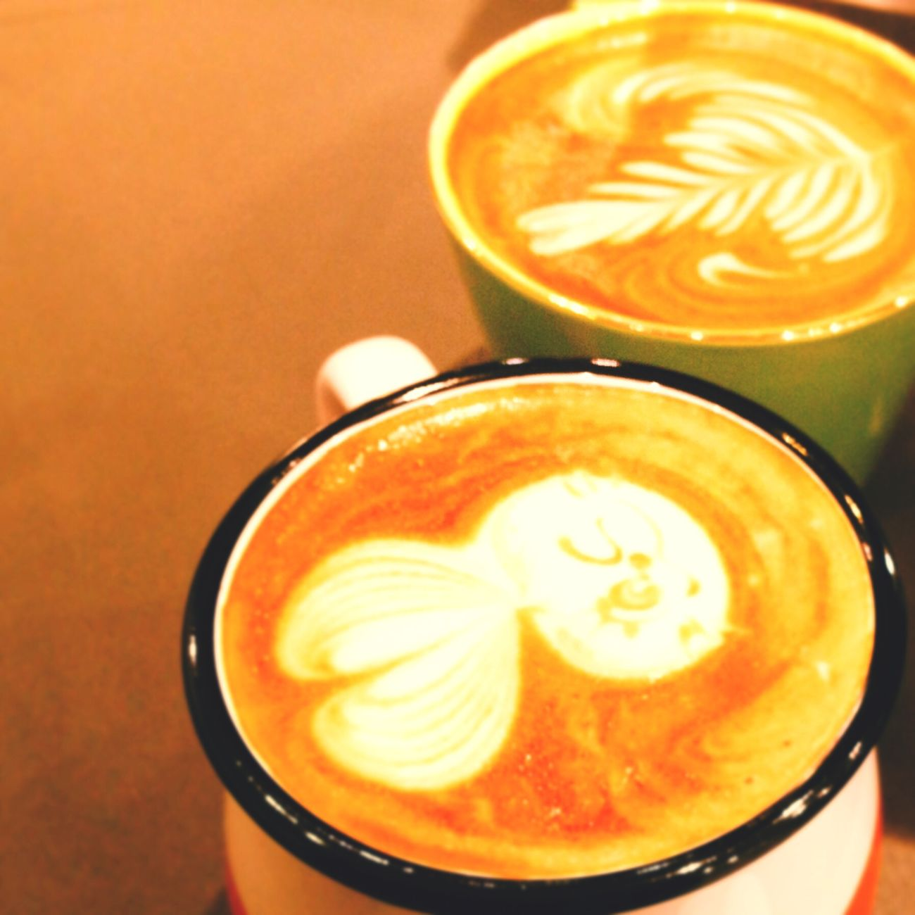 Cafe Latte Tea Time Cute Franc Franc