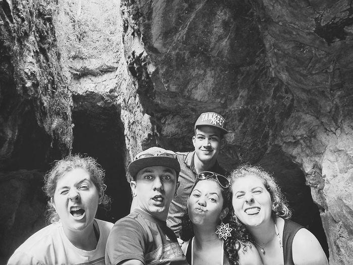 Se aventurando na Gruta do Anjo! ❤ Let's Go. Together. Friends Adventures