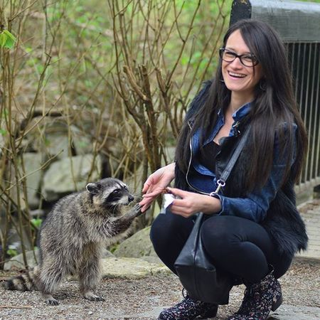 Beautiful day spent Outdoors today... with some new Friends we met... Beautifulbritishcolumbia Mustbevancouver Nature Racoon Serbianbeauty Madeinserbia Canadaliving