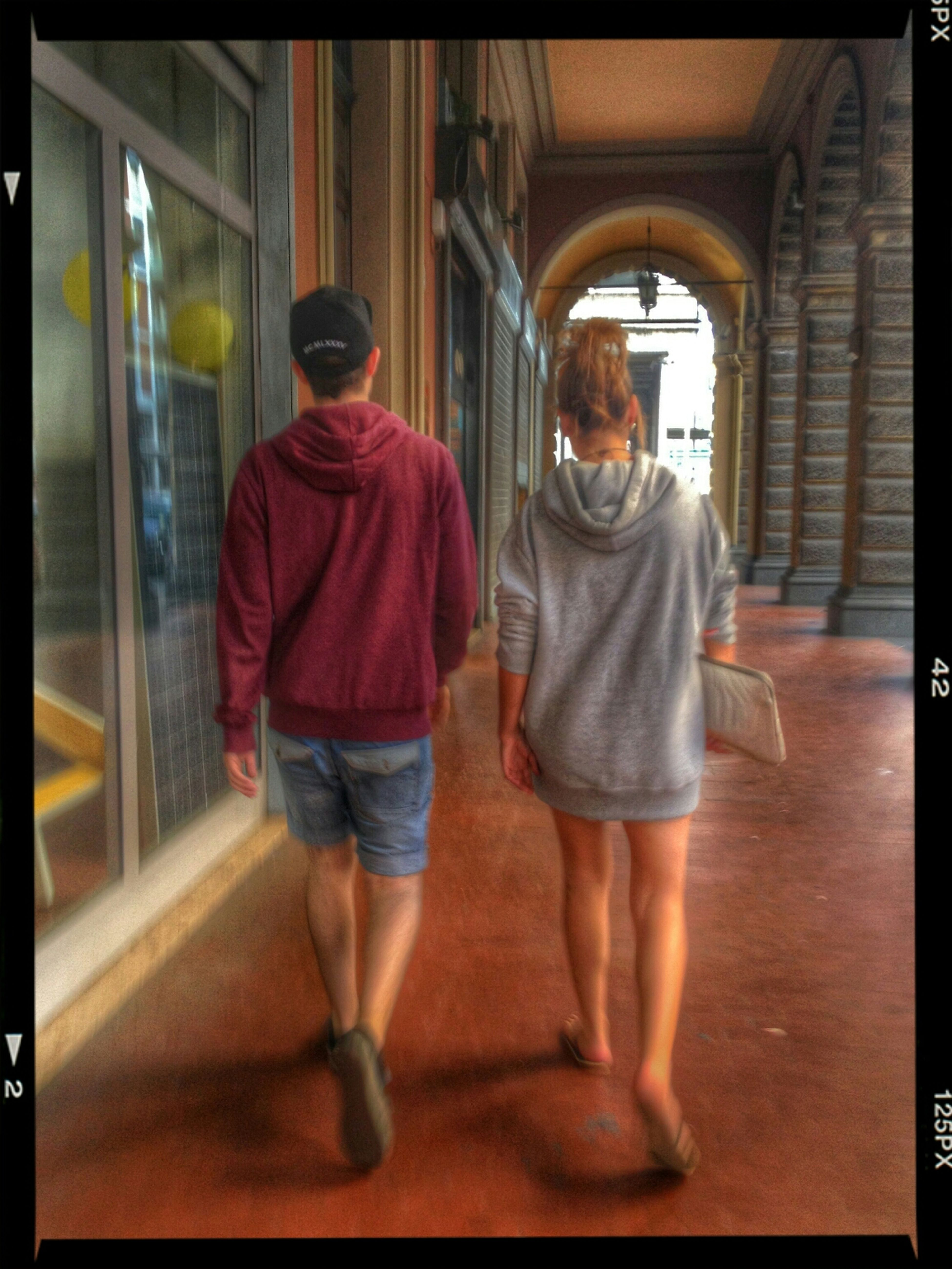 walking together Street Portrait Street Fashion HDR Streetphotography Walking