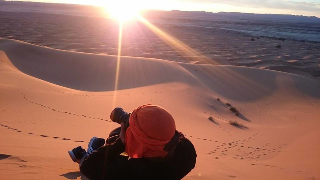 Beauty In Nature Lifestyles Morocco Photographing Sahara Sunlight