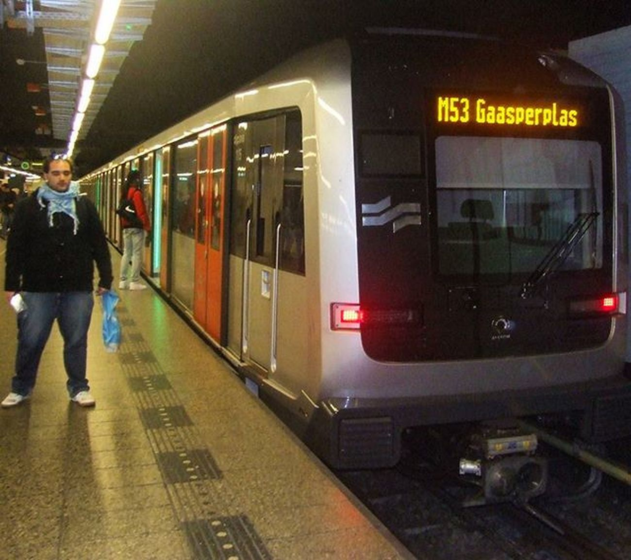 Amsterdam metro. Good memories. October 2015. 🚞🚄