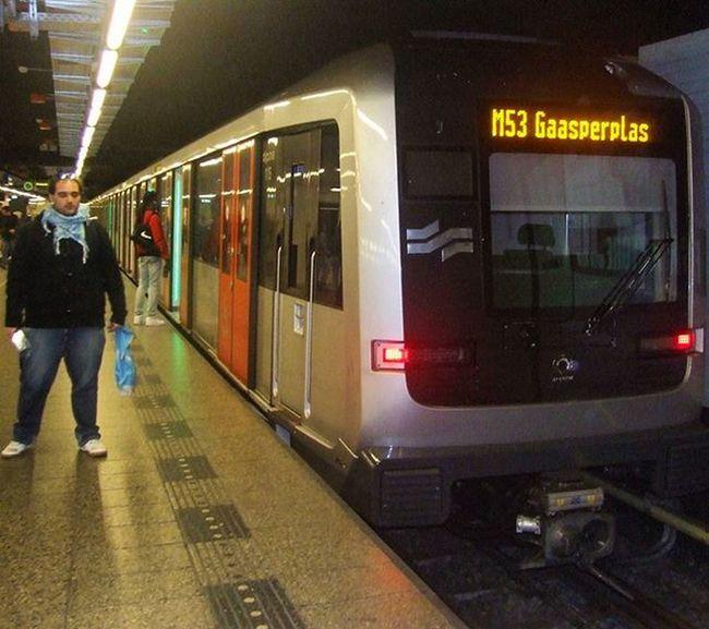 Amsterdam metro. Good memories. October 2015. 🚞🚄