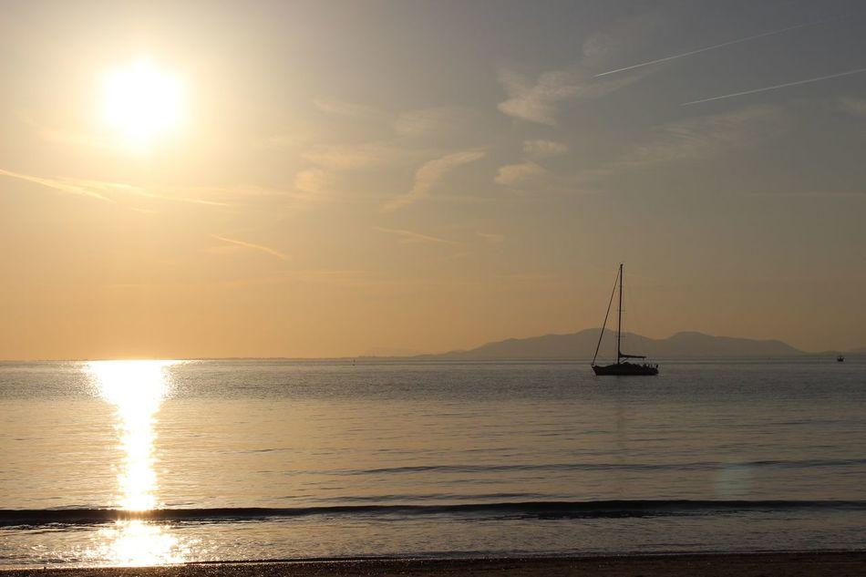 Sunset Cabasson Beach Sea Sunset