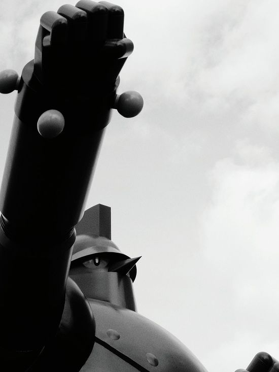 No.28 Military Outdoors Protection No People Close-up Day Sky Monochrome Photography Monochromatic Monochrome Japan Japan Photography Kobe TETSUJIN 28 GO Tetsujin