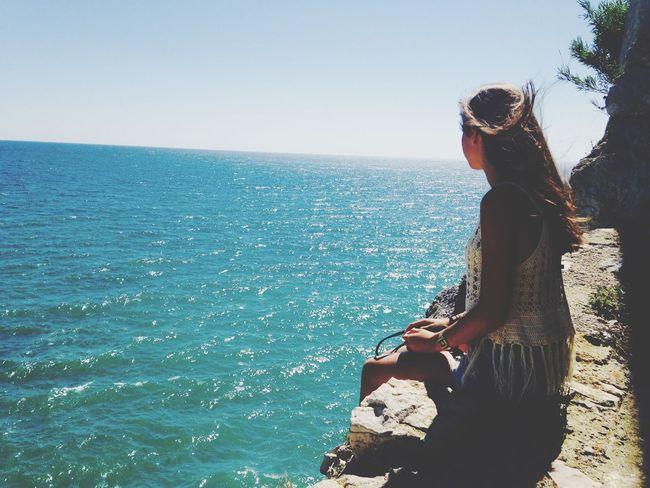 Et je la vis, plus belle que jamais, que heureuse qu'elle ne l'a jamais été. Peñíscola