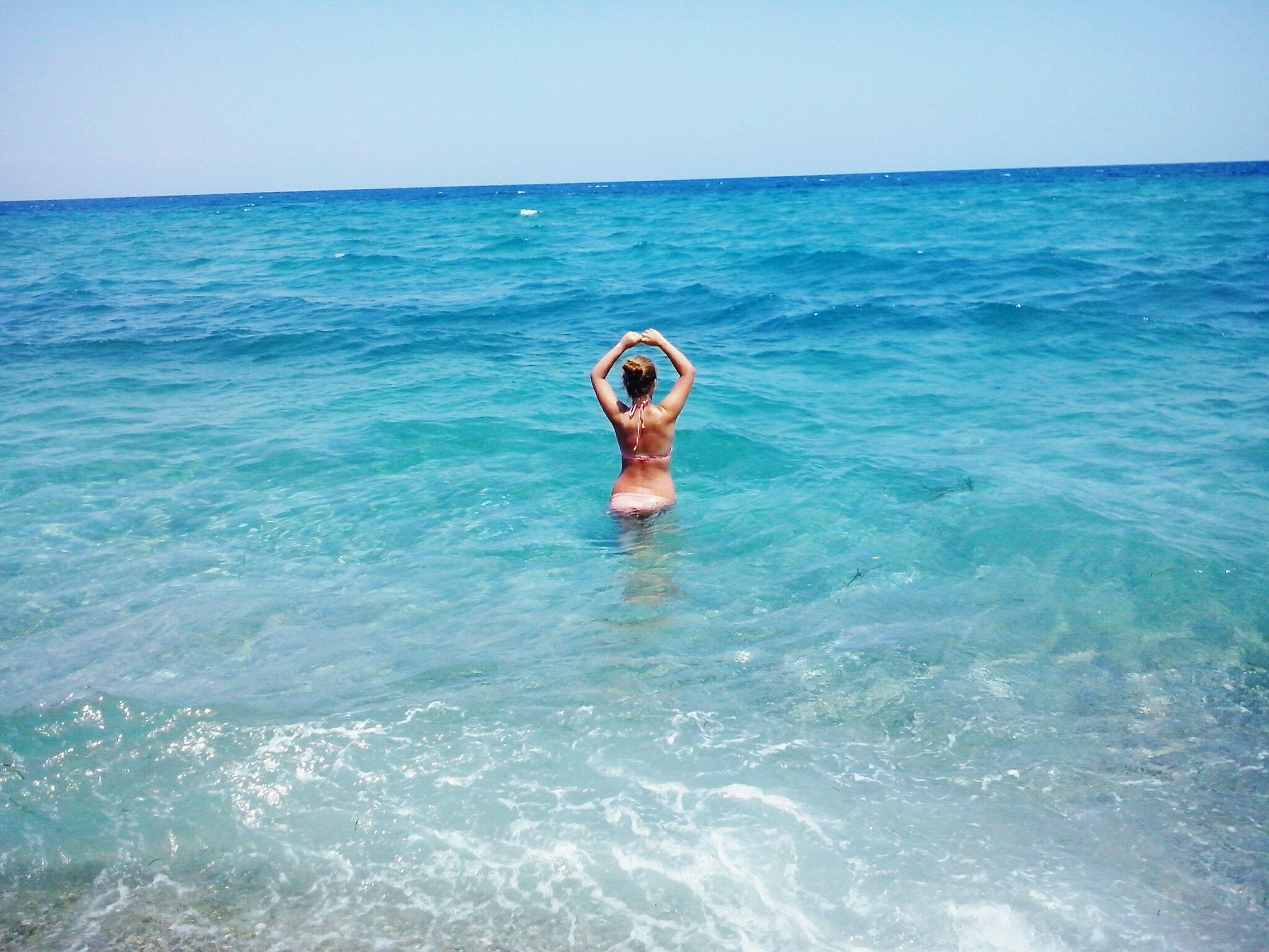 That's Me Sea Greece Blue Gethighbythebeatch