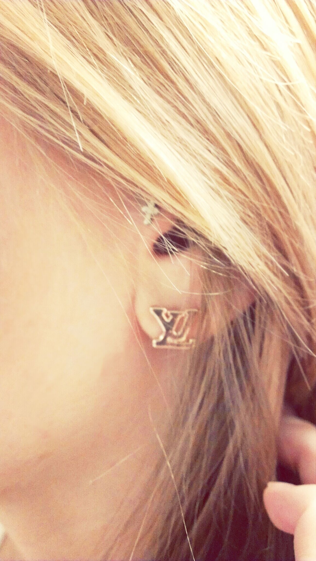 My newest pair I Love Earrings
