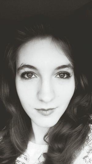 Black & White Relaxing Self Portrait Love ♥