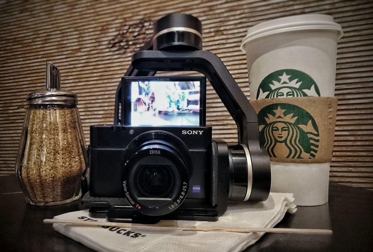 набор youtube блогера тытруба Youtube Memories History Camera - Photographic Equipment Starbacks Starbacks Coffee на невском Питер Saint Petersburg стабилизатор Sony Xperia Z3 Sony RX100 M4 Technology Mobile Photography Snapseed Z3