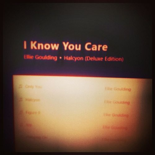 @elliegoulding ??Nowlisten Elliegoulding Iknowyoucare Musictoday