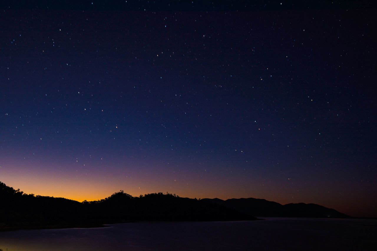 Just before dawn Star - Space Astronomy Night Mountain Constellation Scenics Nature Beauty In Nature Sky Galaxy Star Field No People Milky Way Lake Landscape Outdoors Moon Science Space Astrology Sign Enjoying Life Taking Photos Beauty In Nature Nature Tranquility