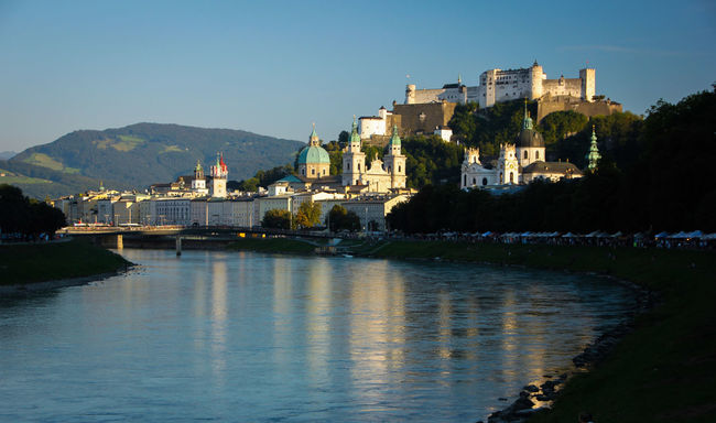 Salzburg Salzburg Oldtown Salzburg City Salzburg, Austria Historical Place Historical Buildings River Danube Taking Photos Hello World Photo♡ Scenery ShotsHohensalzburg Castle Fortress Hohensalzburg Fortress