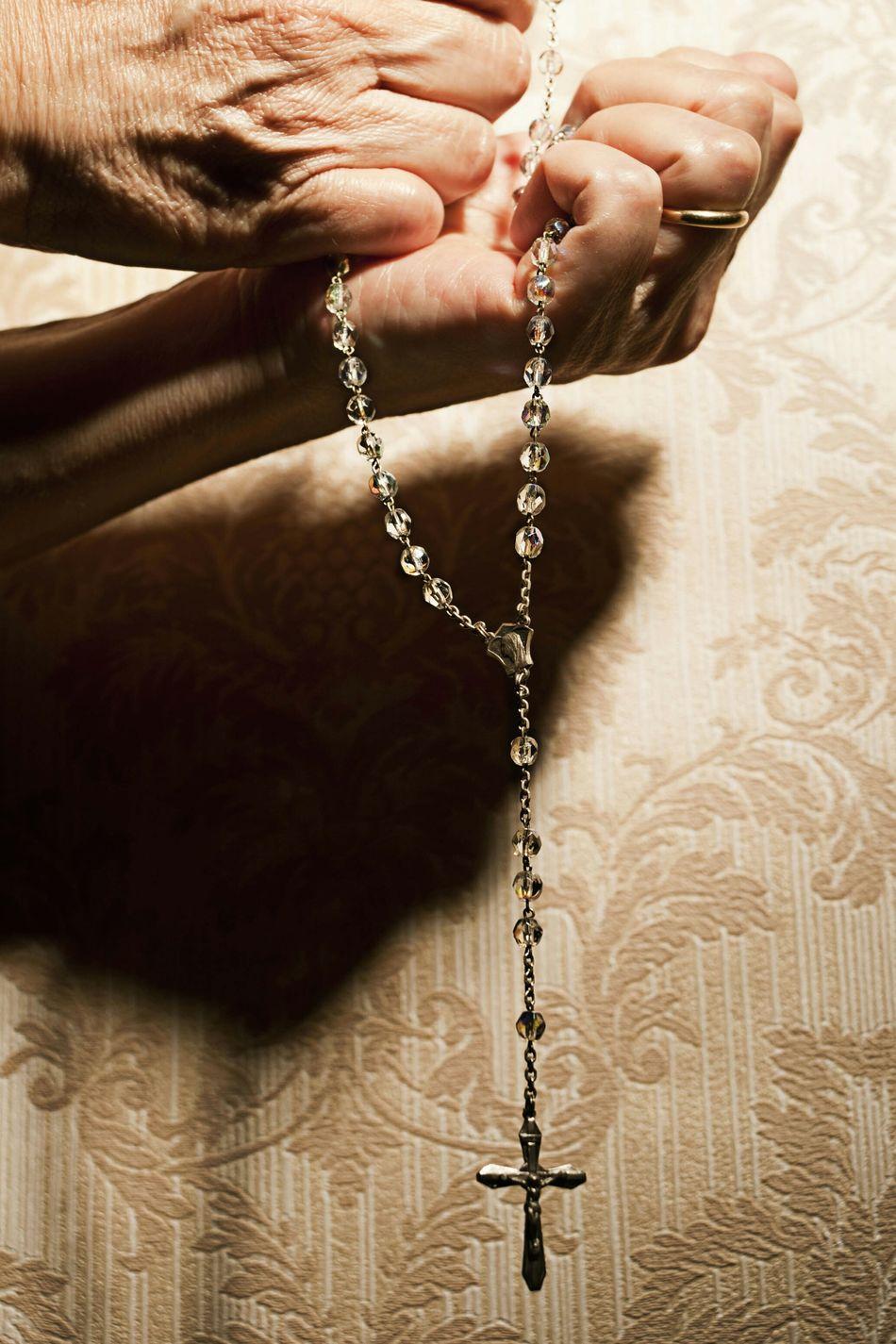 Beautiful stock photos of prayer, Bead, Castel Madama, Catholicism, Christianity
