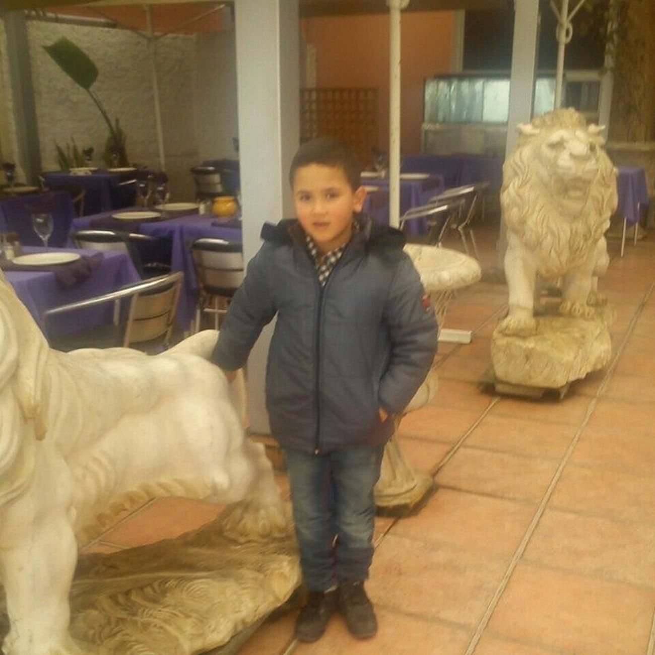 Ma Kebedaa in Morocco I Miss him Alot :**