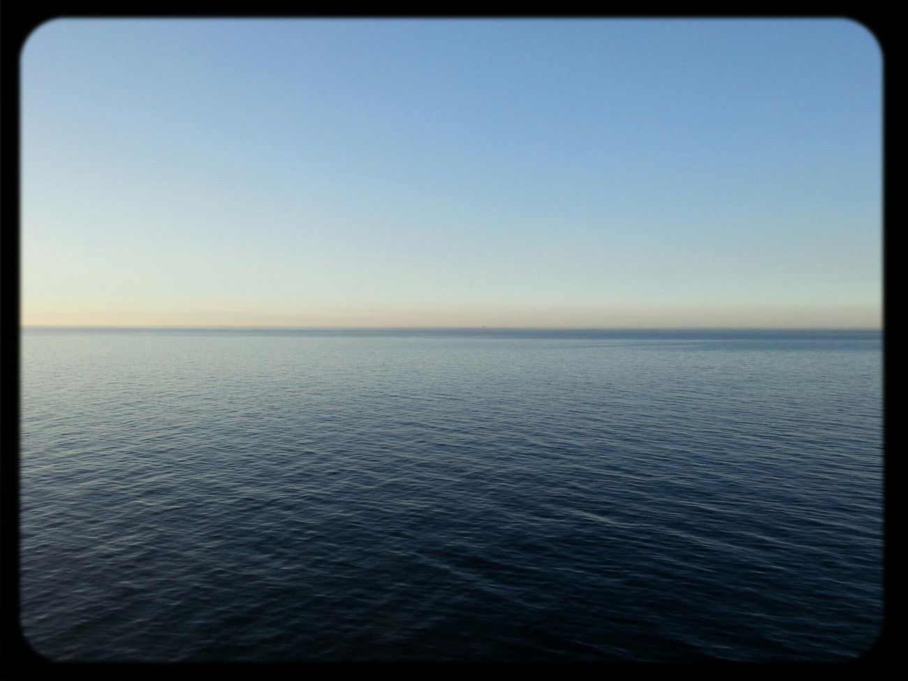 Tallink Sky And Sea Calm water