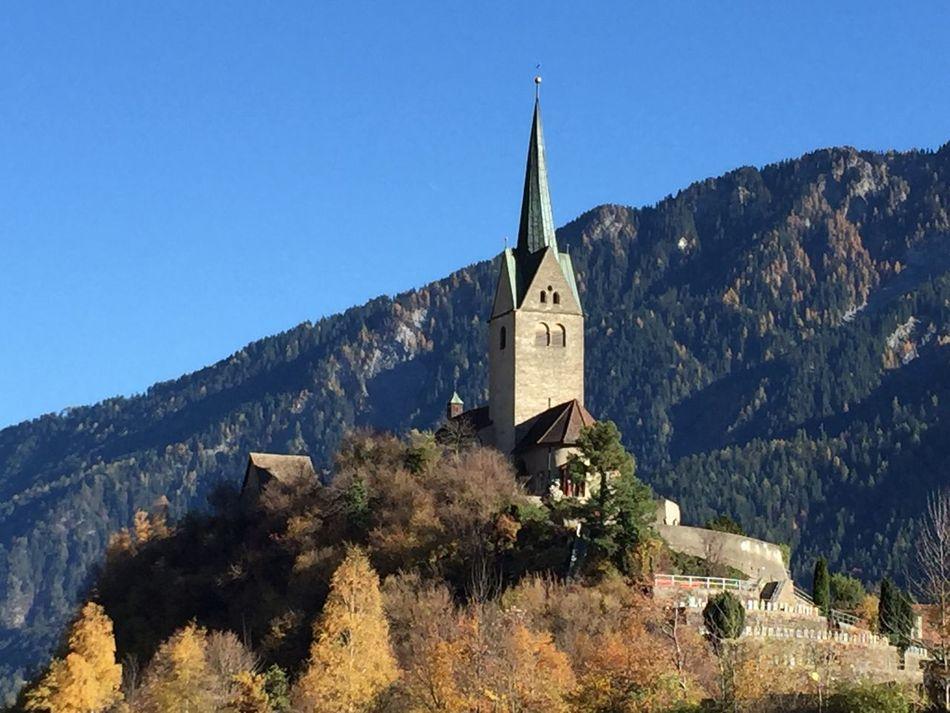 Domat Ems Switzerland Kirche