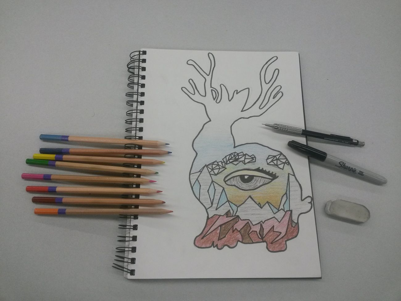 Heres my final drawing for Miike Snow. Drawing Art Music