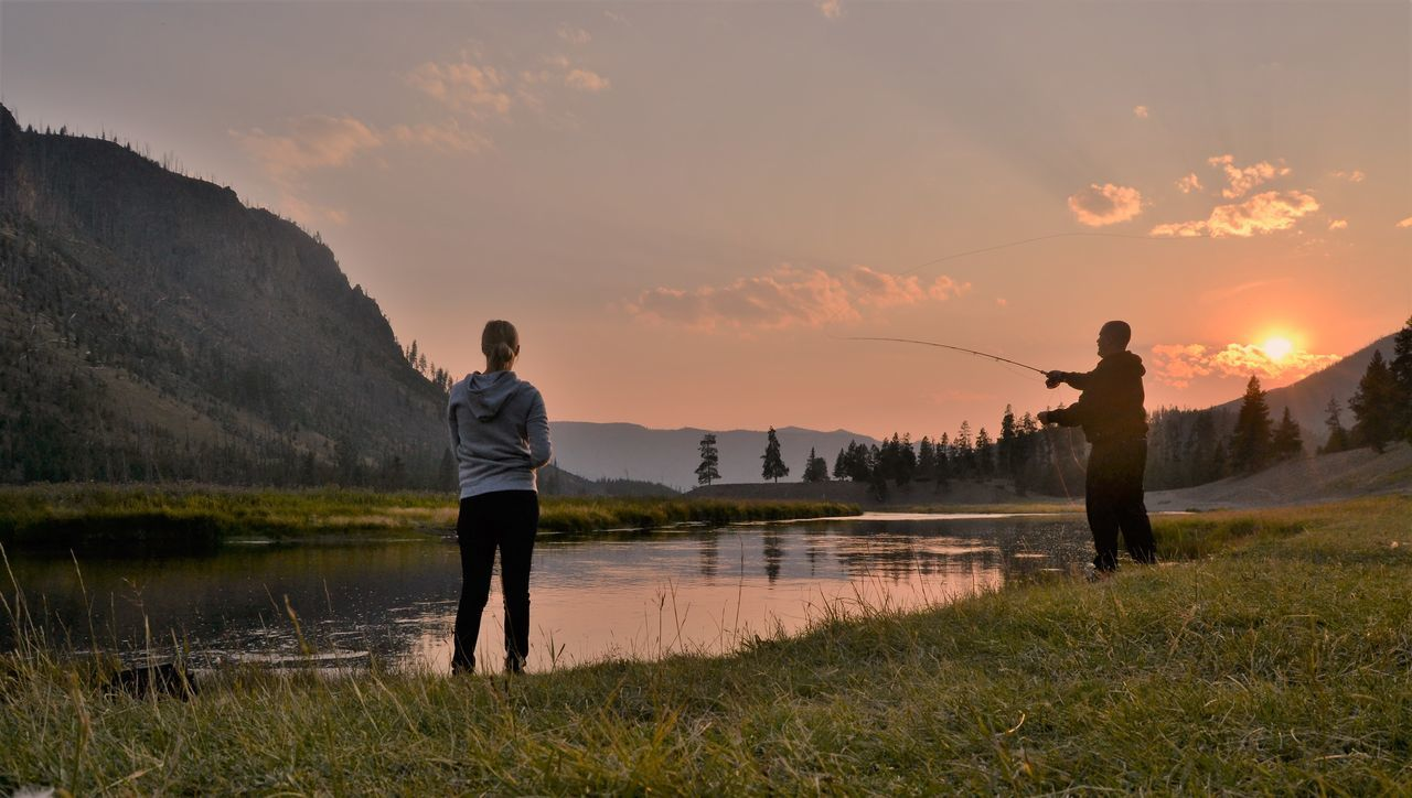 Beautiful stock photos of fishing,  25-29 Years,  30-34 Years,  Adult,  Adults Only
