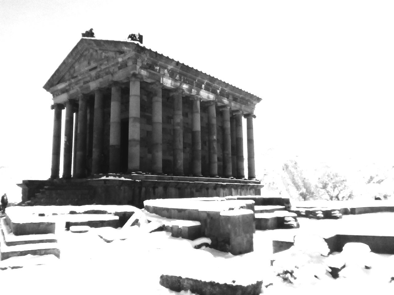 Architecture Garni Geghart Landscape Wonderful View Outdoors Nature 😄😄 Springtime No People 😊😊😊 Smile And Be Happy😇 Traveling In Armenia Travel Photography Spring With Snow