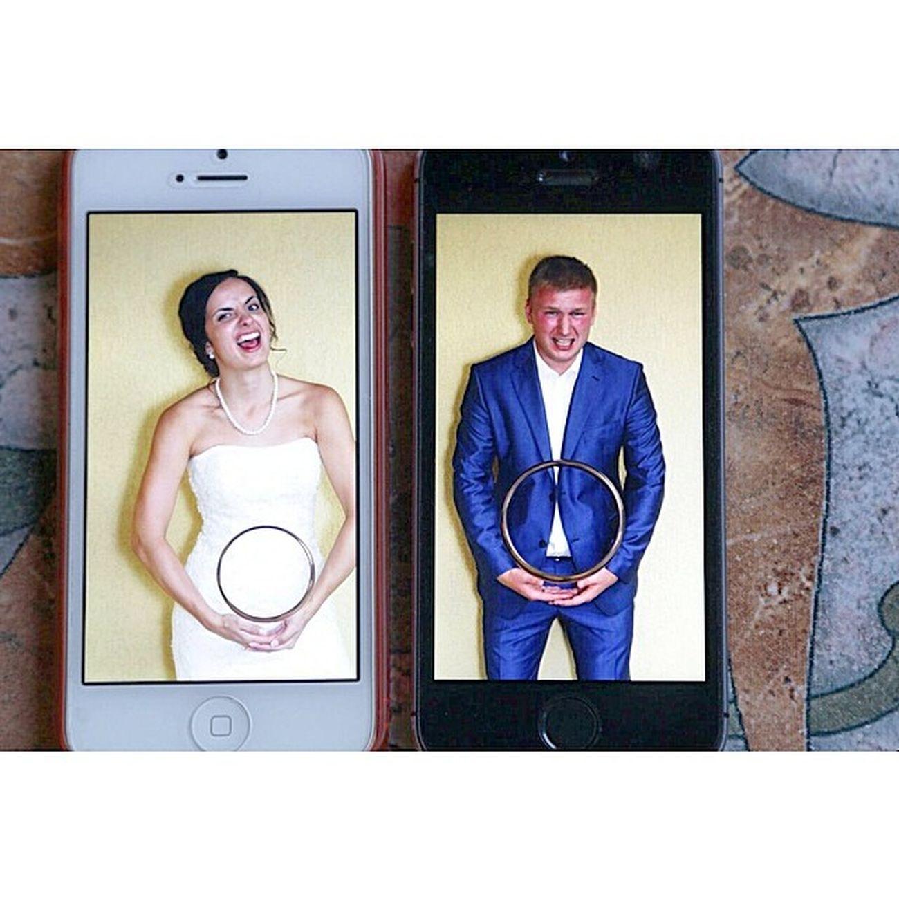 свадьба фотки невеста и жених iPhone5s кольца