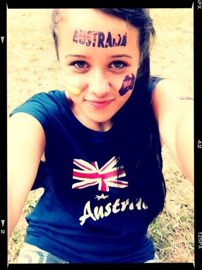 #australia #face #girl #smile #tattoo #culture #happy