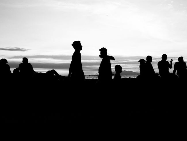 Monochrome Photography Silhouette Photography Silhouette_collection Black And White Collection  People_bw People Street Eyeem Philippines EyeEm Best Shots - The Streets Eye4thestreets Layering Black And White Photography Eye4black&white  Monochrome Black & White The Street Street Photography Black And White Streetphotography Capture The Moment Taking Pictures Taking Photos People And Places Manila Sunset Silhouettes