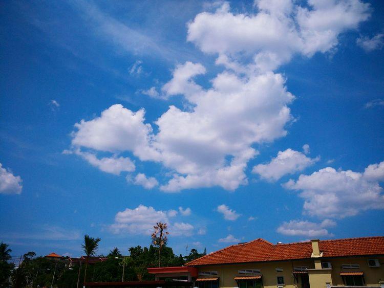 Blue sky Nature Photography Eyemphotography EyeEm Nature Lover Nature_collection Sky_collection Skyporn Sky And Clouds Landscape_photography Sunny Day☀ Blue Sky Cloud_collection