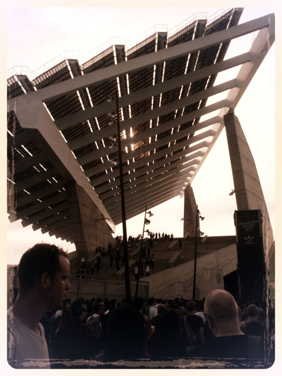 Live Music Concert Day Forum Barcelona Large Group Of People People Placafotovoltaica Primavera Festiva Primaverasound Ps Real People Stage