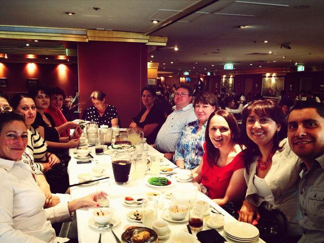 Yum Cha farewell lunch with colleagues.