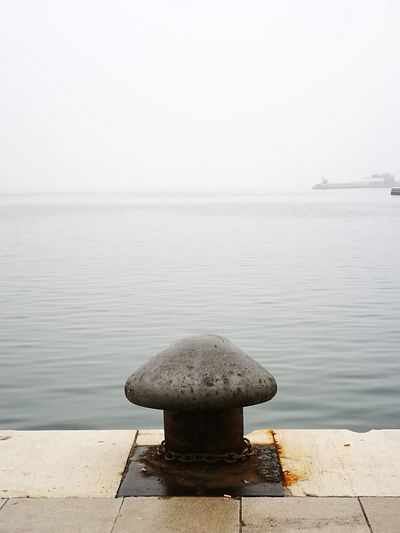 EyeEm Selects looking the sea, Trieste, Italy, Water Sea Tranquility No People Nature Outdoors Horizon Over Water Beauty In Nature Day Sky Streetphoto Color Photography