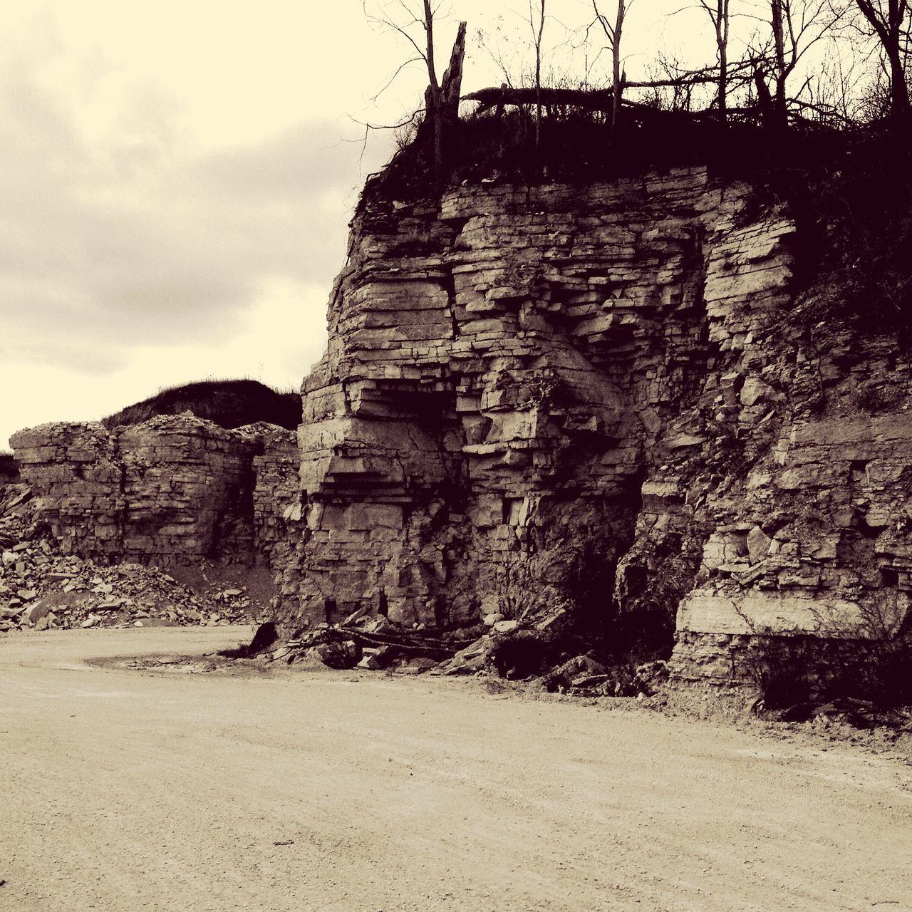 Geology Rocks Limestone Minnesota Nature Quarry Ordovician