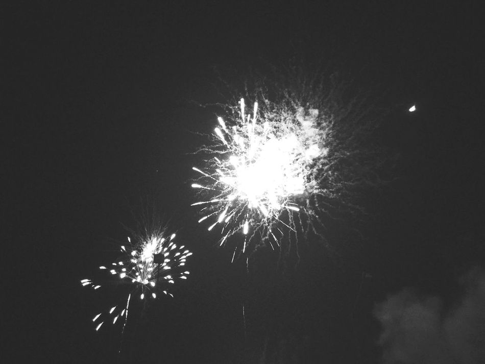 Girls' Day Night Sky Part2♡ Outdoors Fireworks