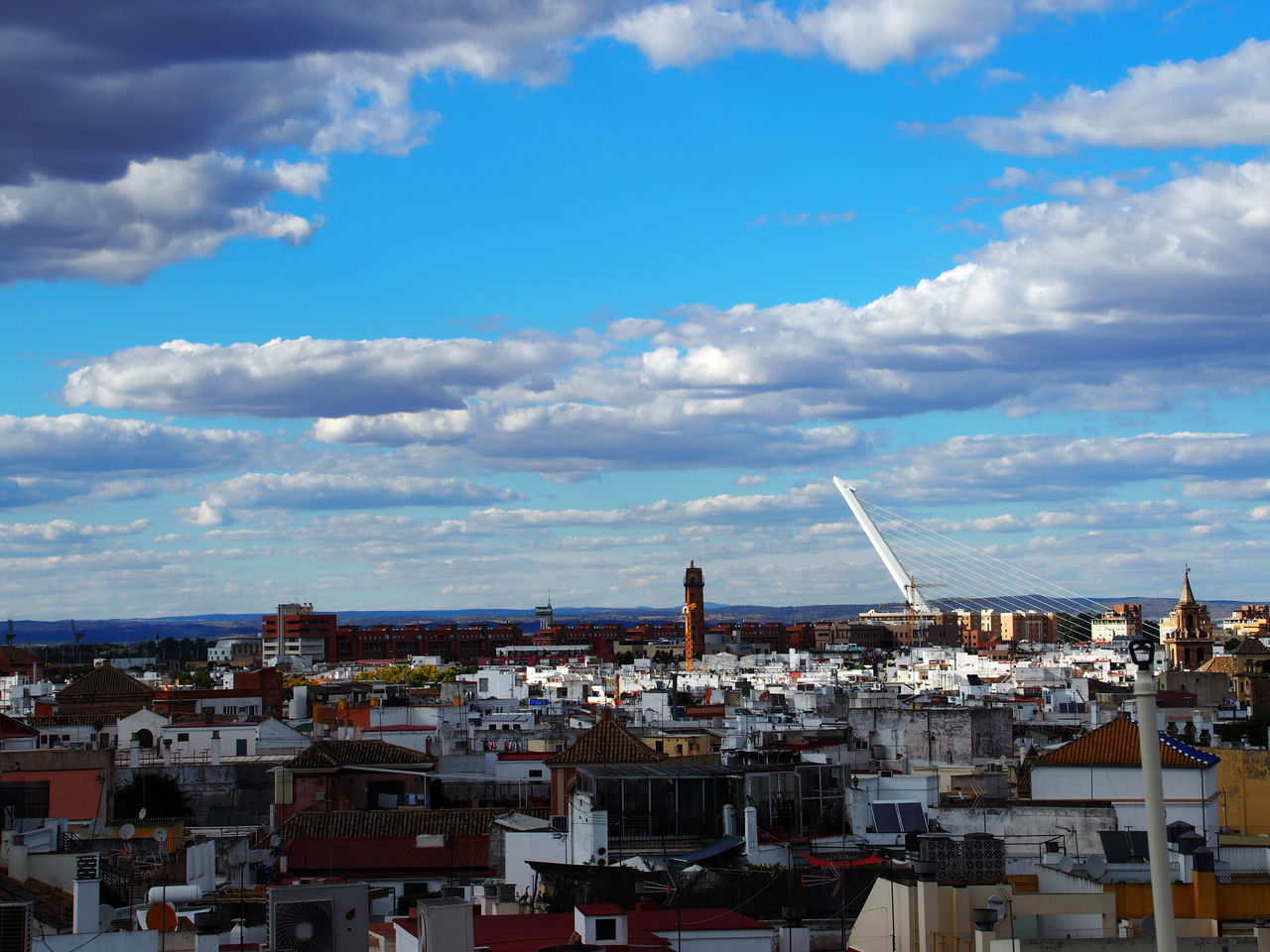 See the world with different eyes! Architecture Architecture Bridge Cityscape Cloud Cloud - Sky Fernweh History Horizon Over Land Memories Oldtown Roof Secondhome Sevilla Sky SPAIN Travel Around The World Travelwithmygirlfriend Urban Scene