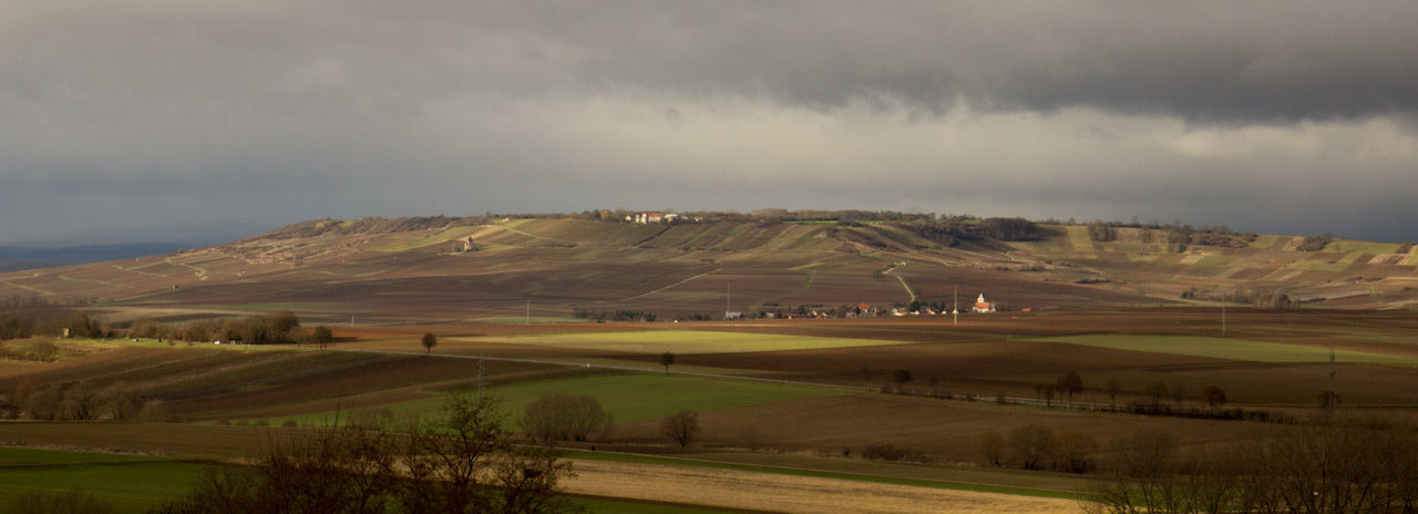 Agriculture Beauty In Nature Cloudy Fieldscape Hill Landscape Nature No People Outdoors Panorama Panoramic Panoramic Landscape Panoramic View Rheinhessen Wißberg Wörrstadt