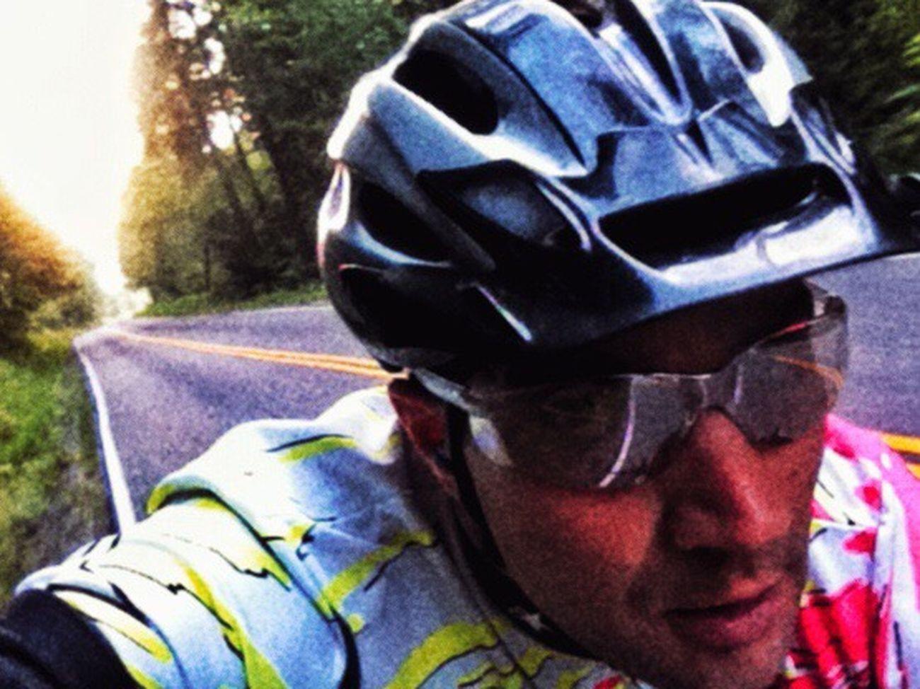 Focus. On The Bike On My Bike Cycling Biking Sweating It Out Self-serving Selfie