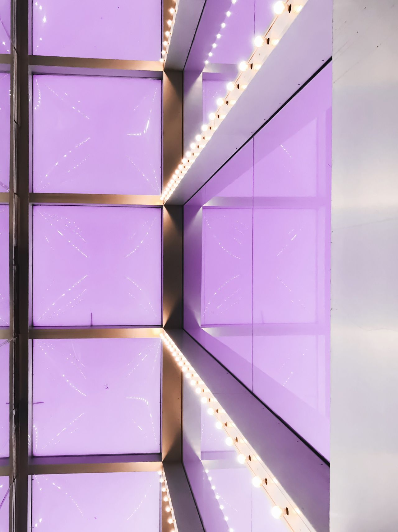 No People Full Frame Backgrounds Indoors  Close-up Day Purple Architecture
