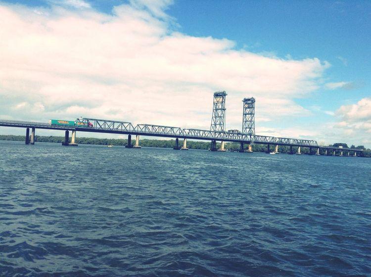 Bridge River River Bank