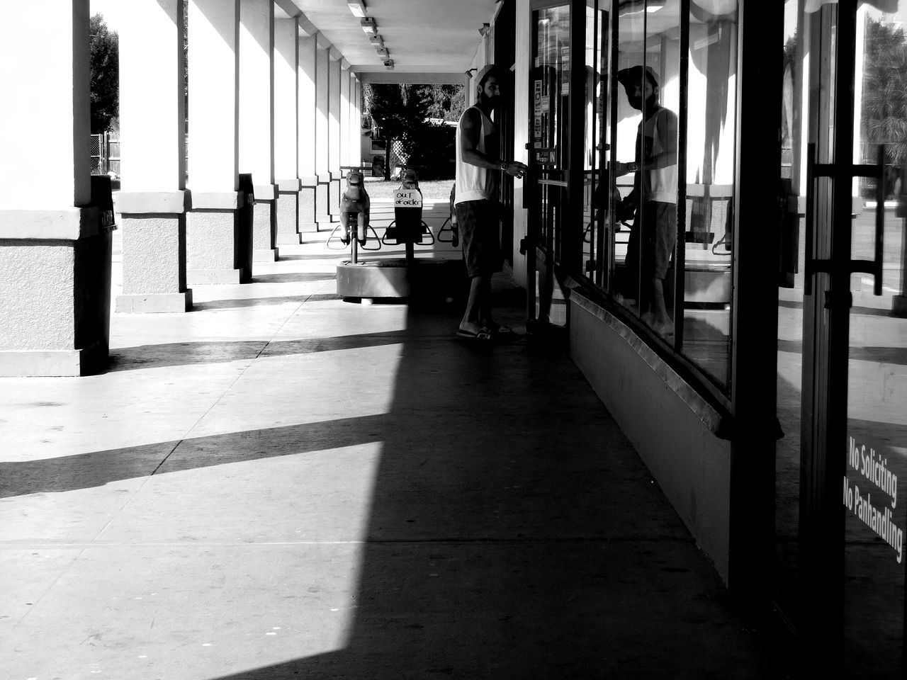 Monochrome Photography Outdoors Candid Real People Man People Watching People Of EyeEm Person Everyday People Everyday Lives Every Picture Tells A Story Snapshots Of Life Florida Streetphotography Shadow And Light Darkness And Light Light And Shadow Notes From The Underground Random Acts Of Photography Urban Exploration Blackandwhite City Floridaphotographer EyeEm Best Shots - Black + White