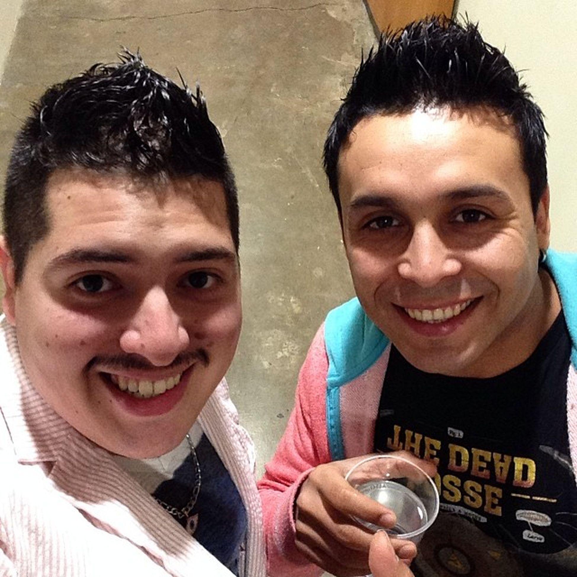 Con el Amigo CristianMunoz