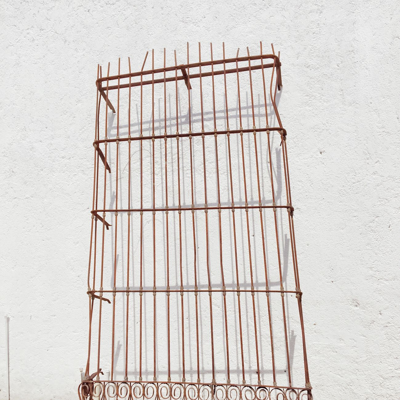 Fence Architecture Window IPhoneography Minimalism White