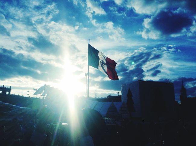 Zócalo D.F Una Tarde En El Centro Historico Año Nuevo