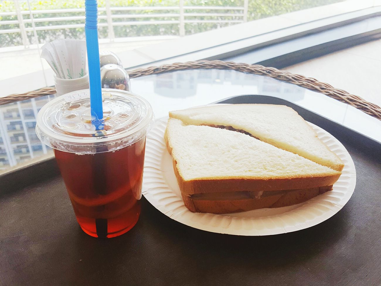 Lunch Break School Life  Food And Drink Refreshment Lemon Tea Sandwiches