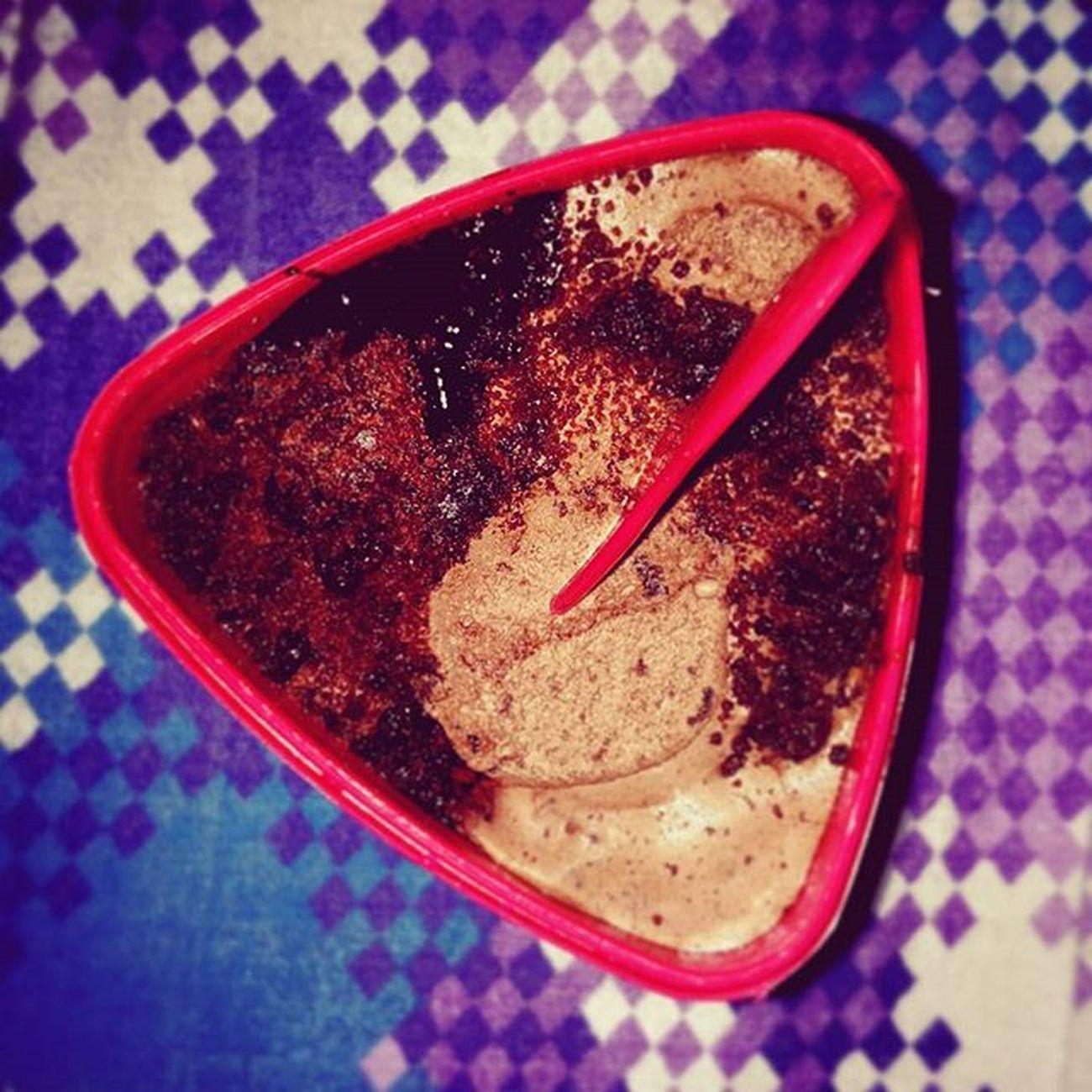 HokeyPokey Doublechocolatetherapy Creamy Sweet Superb Icecream Yummy Peace Soft Lovely Satisfied