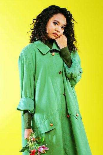 Beautiful People Beautiful Woman Beauty Curly Hair Fashion Fashion Photography Yellow Fashionweek Ootd First Eyeem Photo